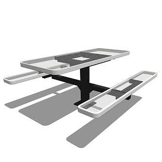 6' Pedestal Table