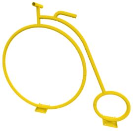 Penny Farthing Bicycle Bike Rack