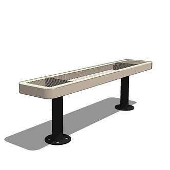 4' Children's Bench without Back