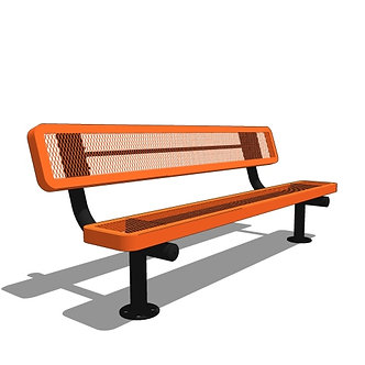 6' Children's Bench with Back