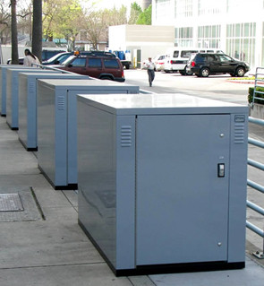 Steel Bike Lockers