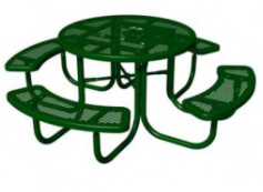 Dog Day Picnic Table