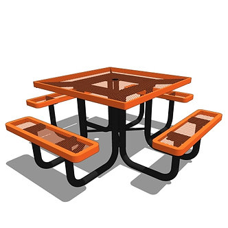 46 Square Portable Table