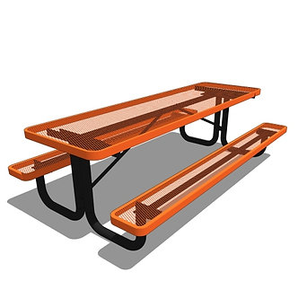 8' Children's Rectangular Portable Picnic Table