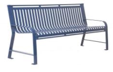O Series Steel Strap Bench