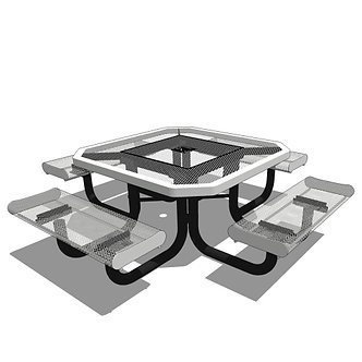 46 Rolled Edges Children's Octagon Portable Table