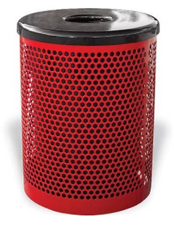 32 Gallon Perforated Receptacle