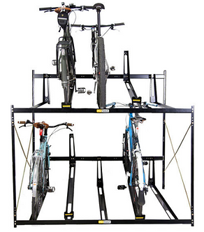 Double Deck Bike Rack