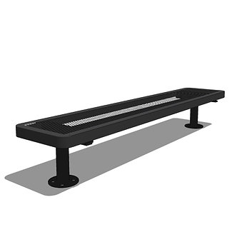 6' Children's Player's Bench without Back
