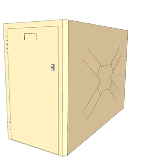Single Sided Bike Locker