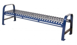 O Series Steel Strap Backless Bench