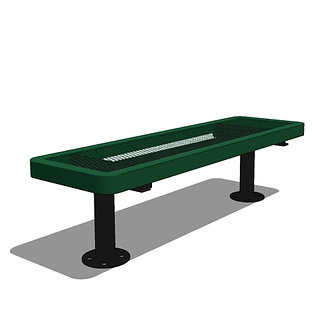 4' Children's Player's Bench without Back