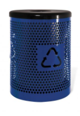 Standard Recycle Logo Receptacle - 32 Gallon