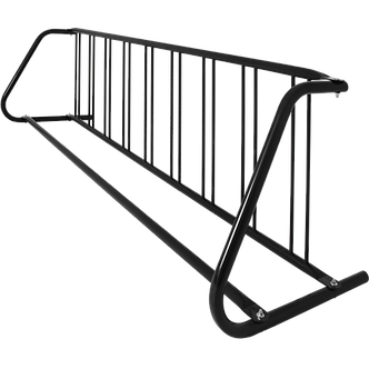18 Bike Double Sided Grid Rack