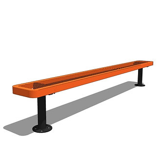 8' Children's Bench without Back