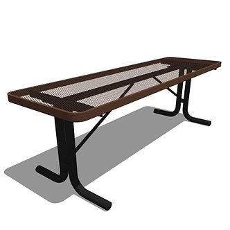 8' Portable Rectangular Portable Utility Table