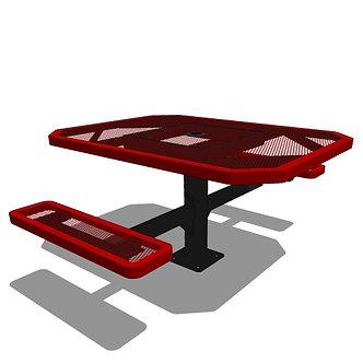 46 Octagonal Portable Table - 2 Seat