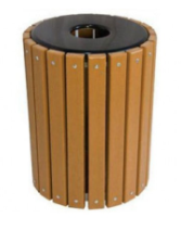 32 Gallon Top Line Recycled Plastic Receptacle