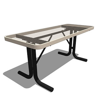6' Portable Rectangular Portable Utility Table