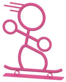 Skateboarder Bike Rack