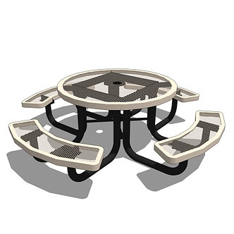 46 Children's Round Portable Table