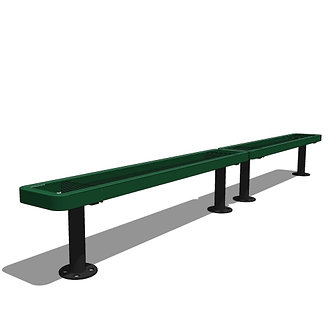 10' Children's Bench without Back (2 x 5' Sections)