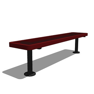 6' Player's Bench without Back