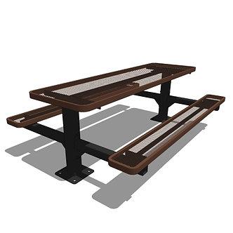 8' Double Pedestal Table