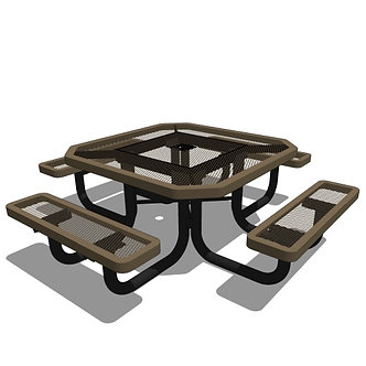 46 Children's Octagonal Portable Table