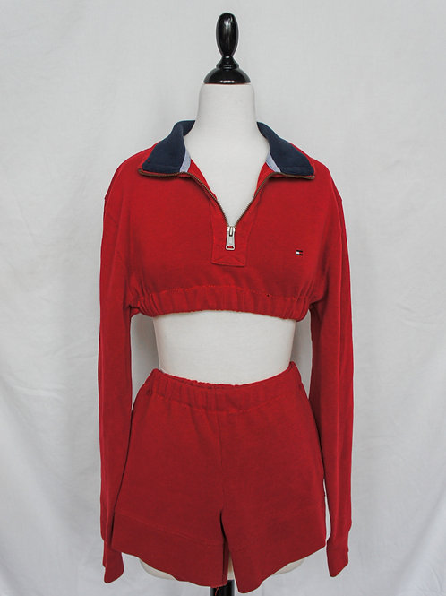 Upcycled Tommy Hilfiger Two Piece Set