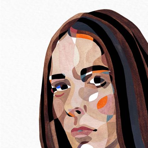 Aquarelle - Portrait
