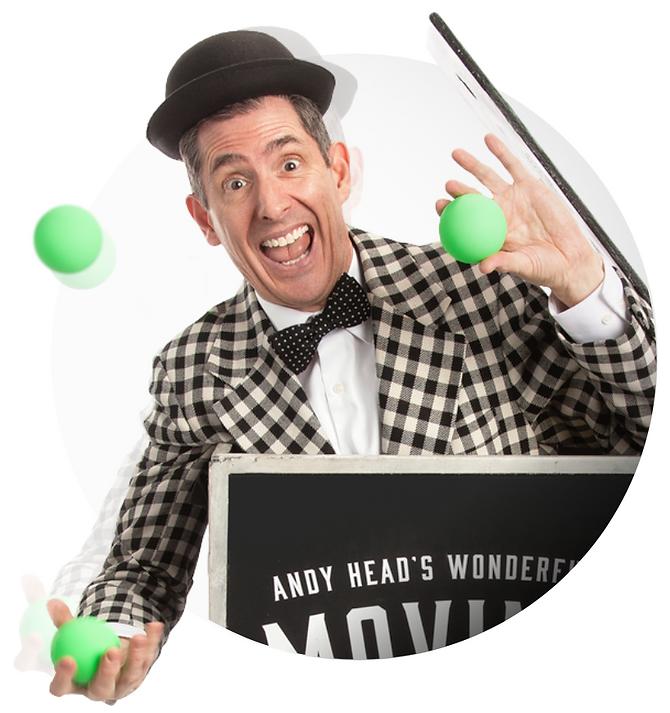 Juggler Andy Head (png)