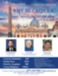 Dr. Michael Barber, Steve Wood, Jim Burnham, St. Augustin Institute, Fullness of Truth, St. Joseph's Covenant Keepers, San Juan Catholic Seminars, Why Be Catholic Conference, St. Margaret Mary Catholic Church Austin
