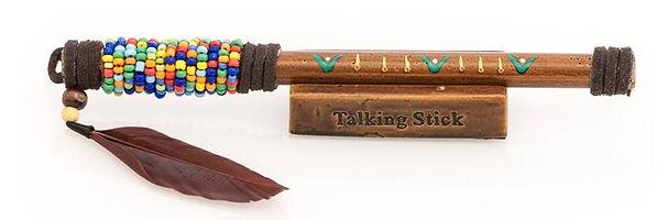 Talking stick as tool of Transformation & Integration