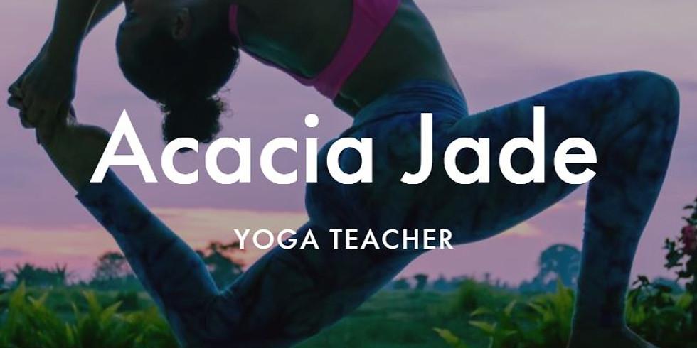 Yoga & Medicine with Acacia Jade Yoga