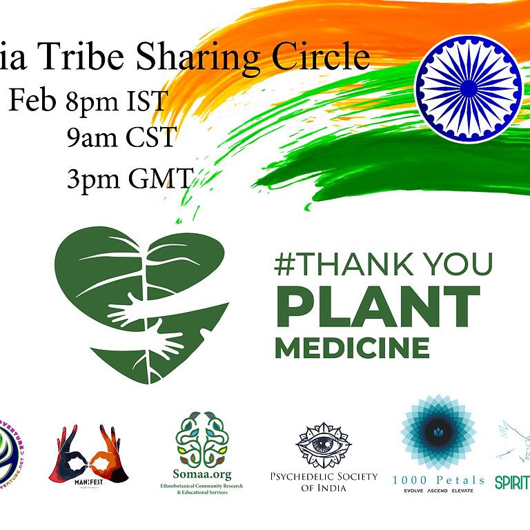 India Tribe Sharing Circle