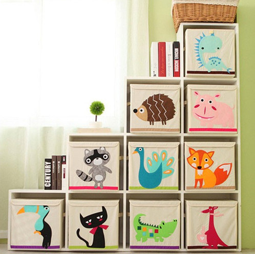aufbewahrungsbox cartoon tiere babyfuchs babyfuchs onlineshop. Black Bedroom Furniture Sets. Home Design Ideas
