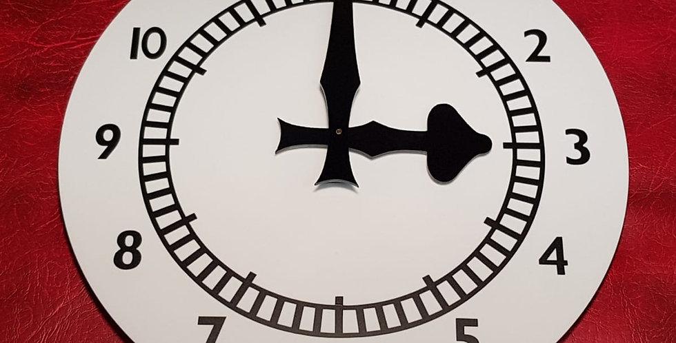 Arsenal Clock End Replica Wall Clock. 12 inch