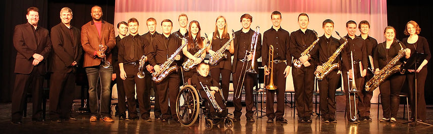 2014 Jazz Ensemble with Sean Jones.JPG