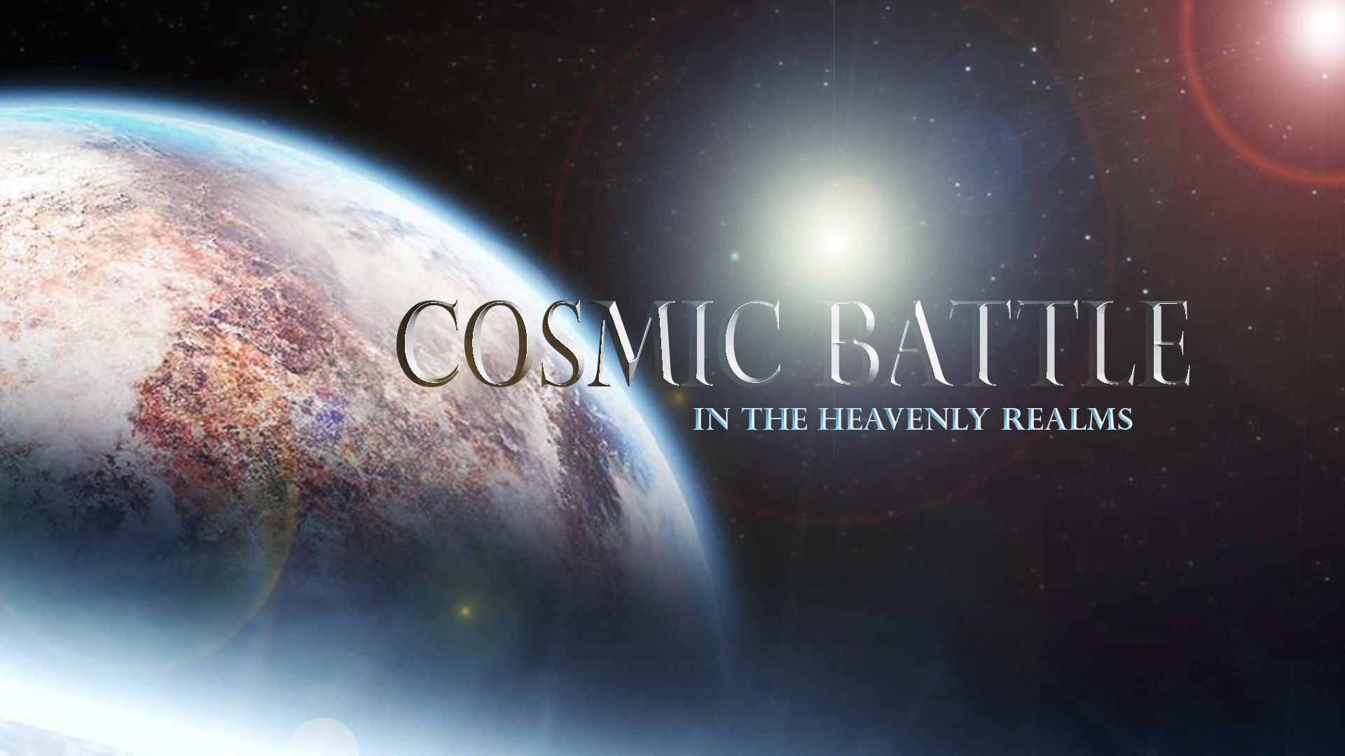 The Cosmic Conflict
