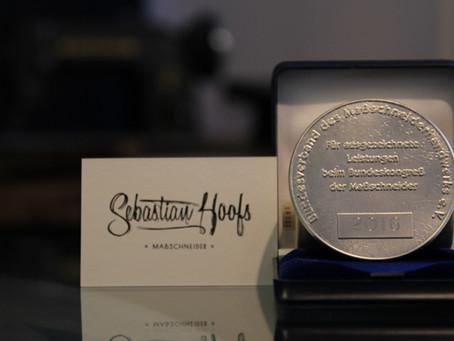 Silber beim Bundeskongress der Maßschneider