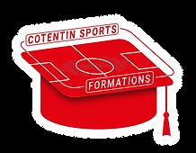 Logo Rouge Contour - Cotentin Sports For