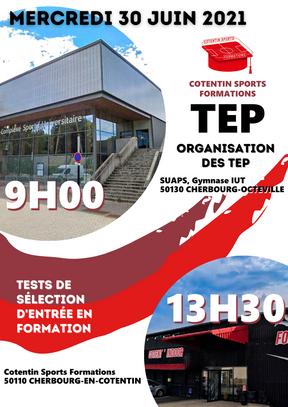 Organisation des TEP APT