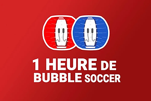 1 Heure de Bubble Soccer - Cotent' Indoo