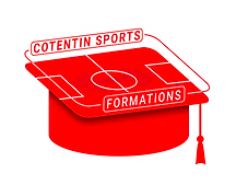LOGO ROUGE CONTOUR COTENTIN SPORTS FORMA
