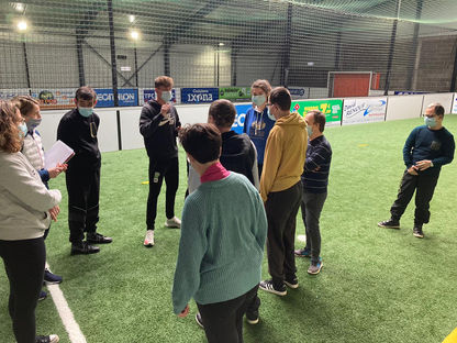 Séances de FOOT et HAND adaptés Cotentin Sports Formations
