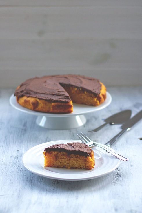 kuerbiskuchen-schokoladen-ganache-butter