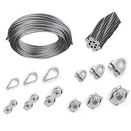 Stainless Steel wire-rope-cable-clamps-thimble-simplex