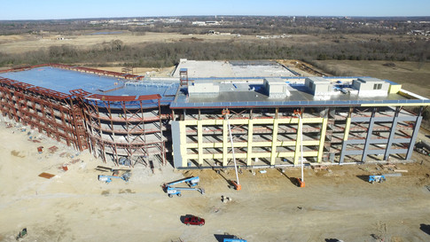 Construction Timeline Aerial Photography