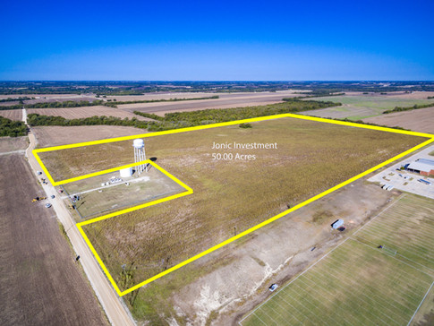 Large Land Parcel Aerial Photography